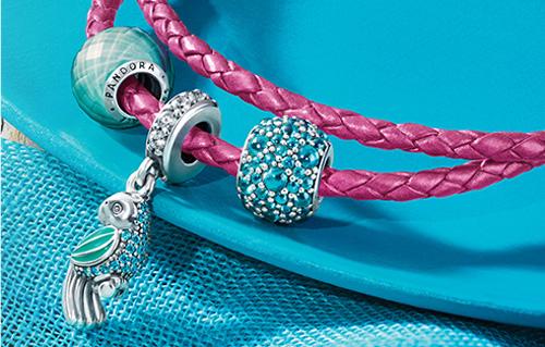 Pandora jewelery is available through Ben David Jewelers in Danville, VA.