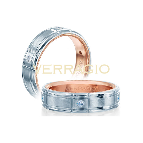 Some men's rings feature a single white diamond.