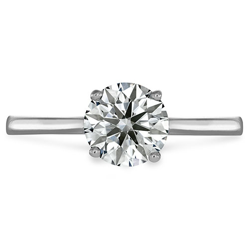 Hearts on Fire is a respected jeweler that creates beautiful solitaire engagement rings.