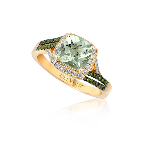 This unique green diamond engagement ring is model Model #ZUDT.