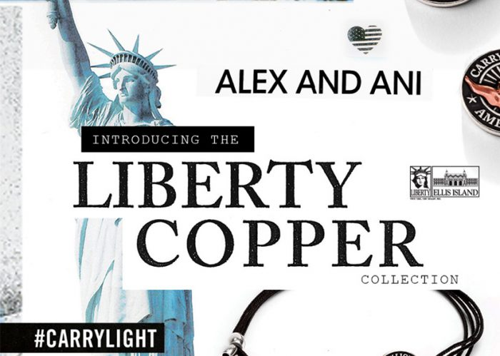 The new Liberty Copper Collection from Alex and Ani has some new bracelet designs.