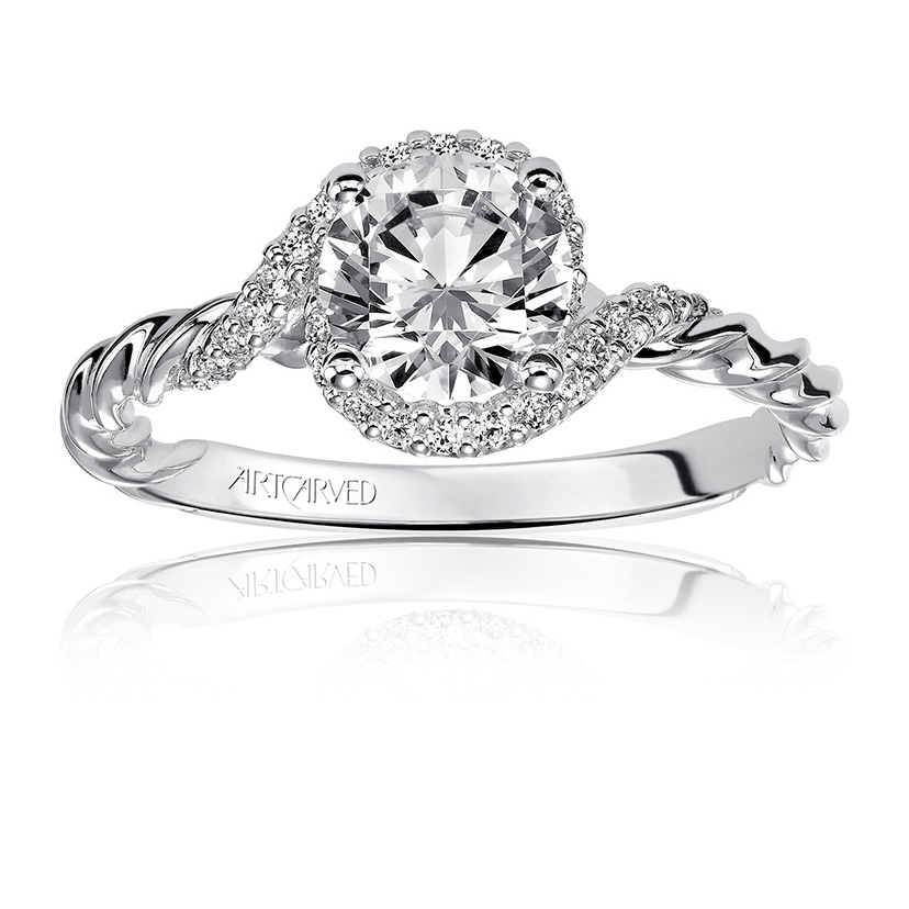 Diamonds can be exchanged in engagement rings.