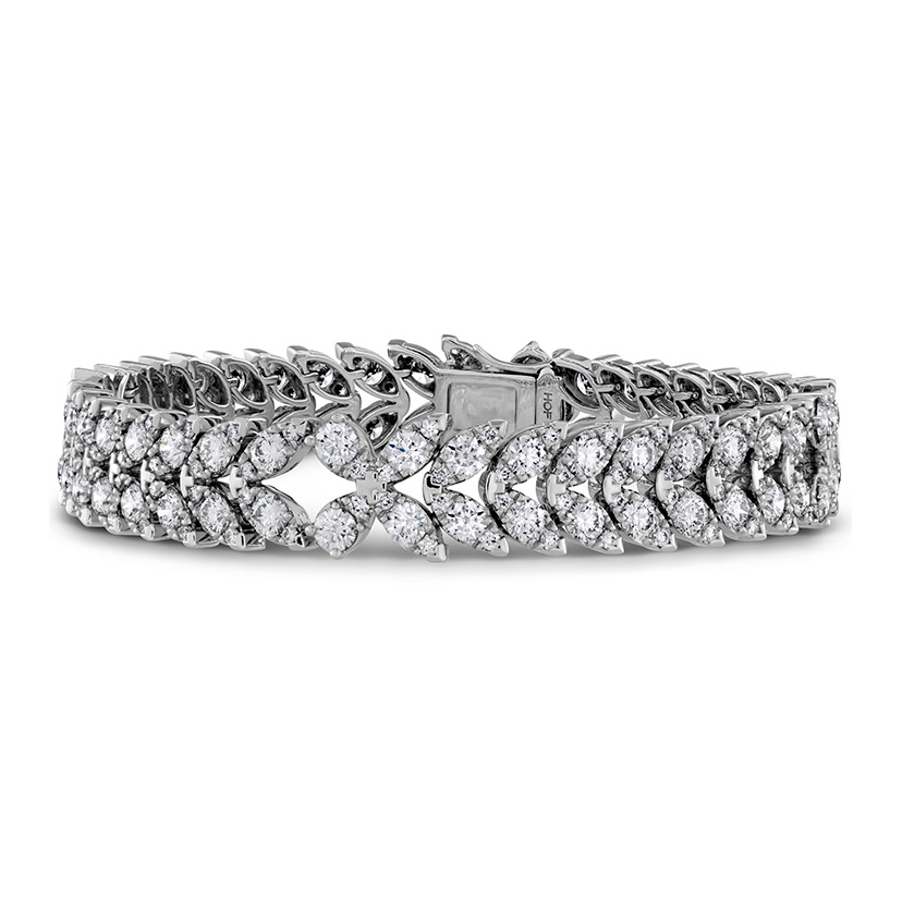 Aerial Diamond Bracelet by Hearts on Fire