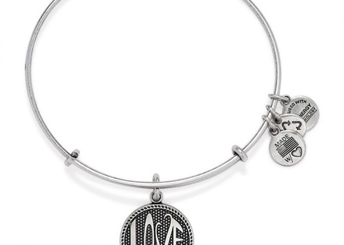 Open Love Charm Bracelet by Alex and Ani