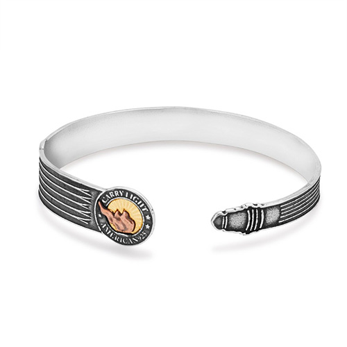 The Cuff is a new design for Alex and Ani.