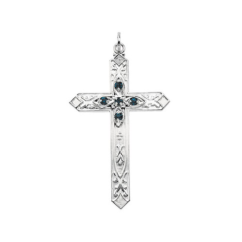 A silver cross makes a wonderful silver bridesmaid jewelry gift.
