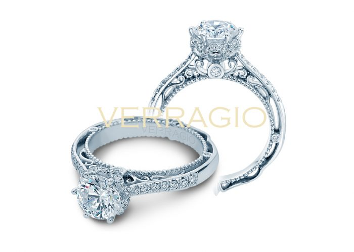 Verragio is a top designer of engagement rings.