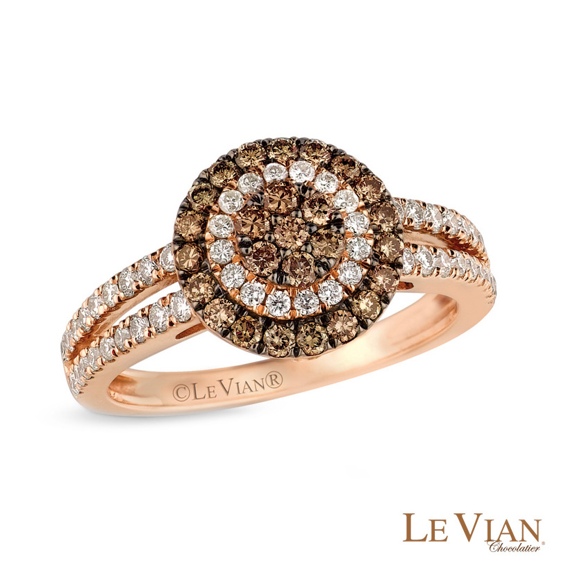 When looking for alternative engagement rings, Le Vian is a designer to browse.