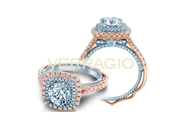 The value of diamonds is well known by Brides who prefer Verragio.
