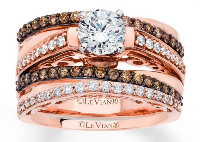 Le Vian designs beautiful bridal jewelry you might consider when buying an engagement ring.