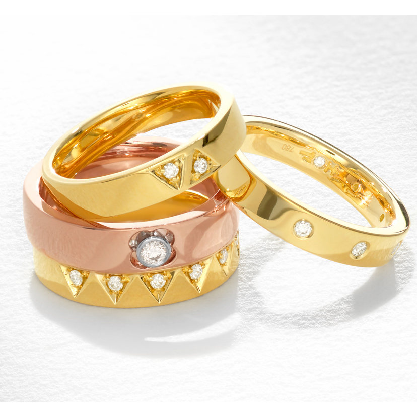 Wedding Rings By Hearts On Fire