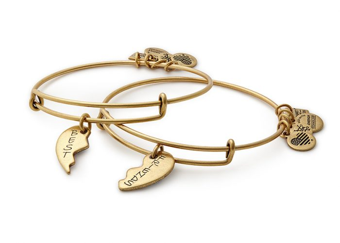 Alex and Ani Best Friends bracelets are in stock now.
