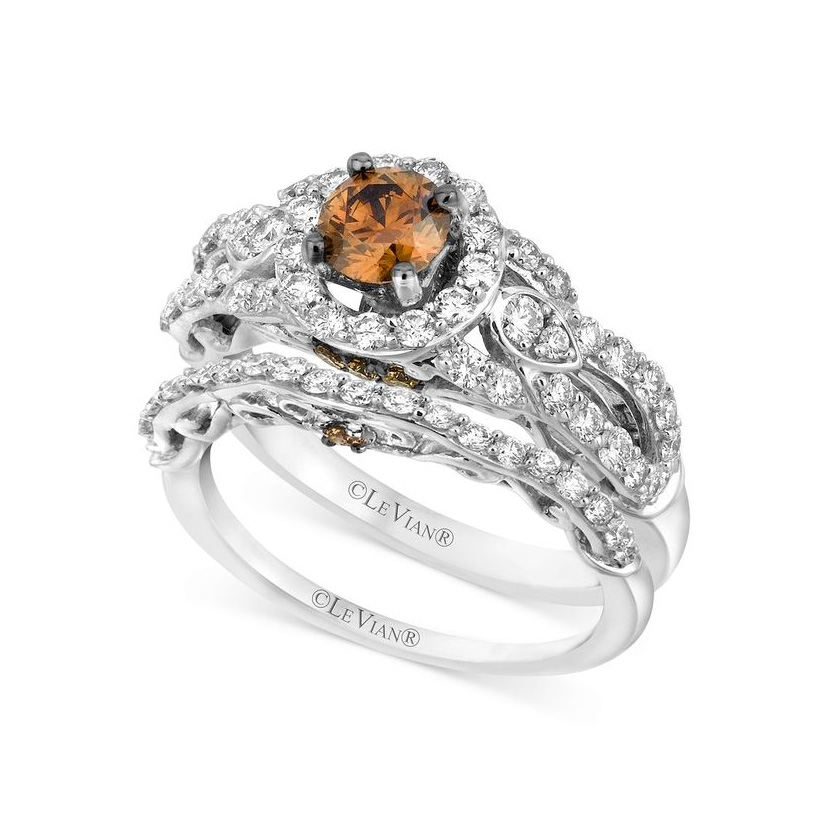 Chocolate Diamond with Vanilla Gold by Le Vian Bridal