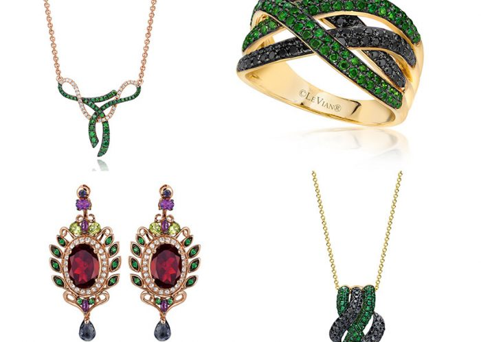 Some samples of Le Vian's beautiful exotic collection.