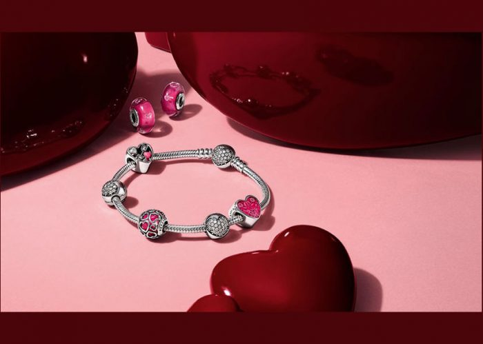 Here are some Valentine's Day gift suggestions with the Pandora charm's price.
