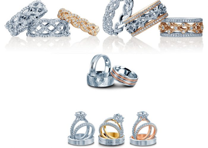 Wedding rings from Verragio.