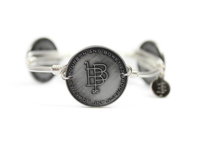 Bourbon and Boweties locations all carry this beautiful bangle.