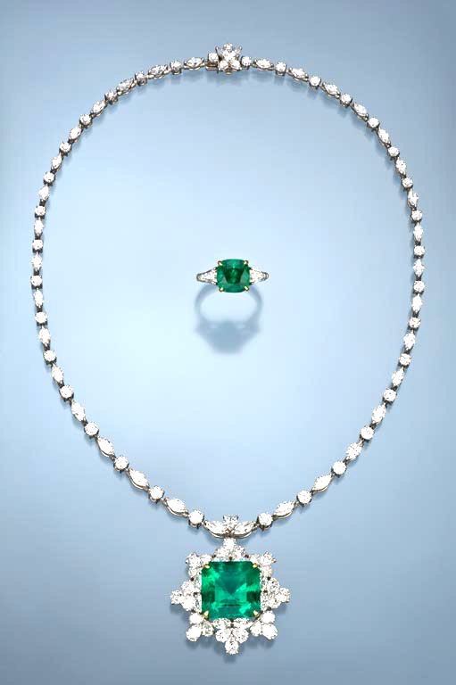 Emerald is the most famous and glamorous of green gemstones. - Courtesy Richard Krementz Gemstones via GIA