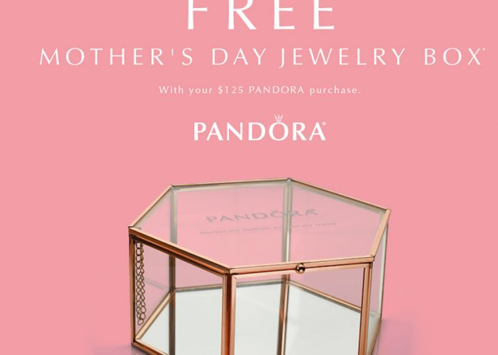 Where to buy a Pandora bracelet and get a free gift box.
