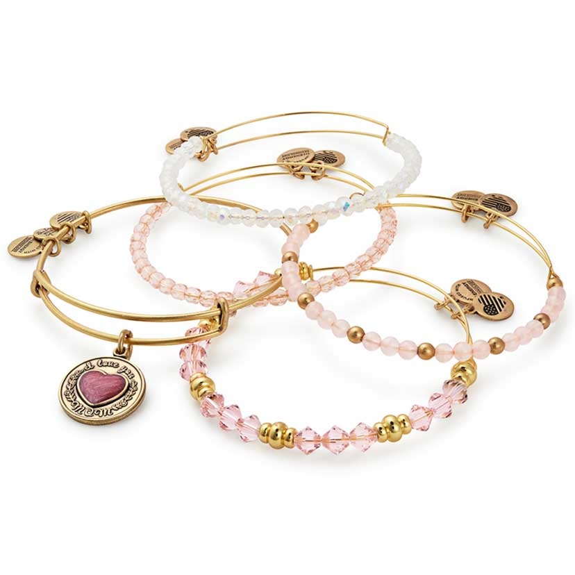 Alex and Ani has many beautiful Mother's Day gift choices.