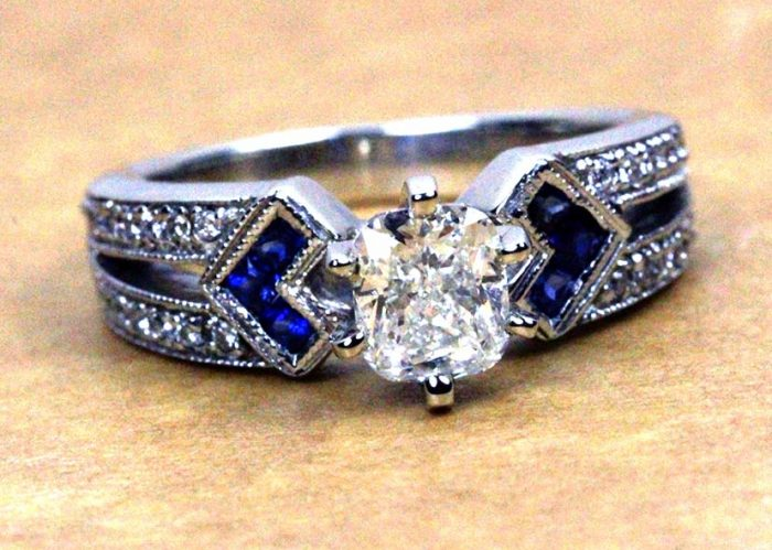 Where to find vintage wedding rings in Danville, VA.