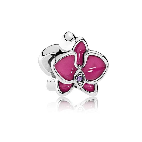 Orchid Charm in Purple by Pandora