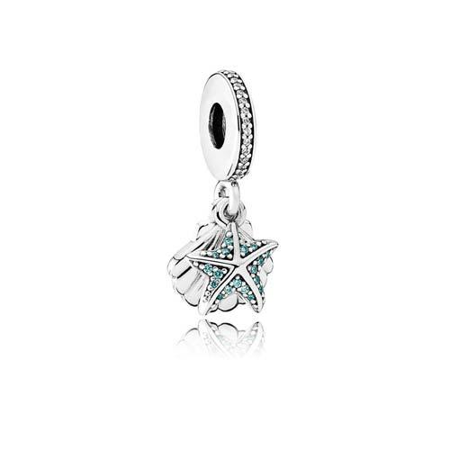 Minty Shell Starfish Charm by Pandora