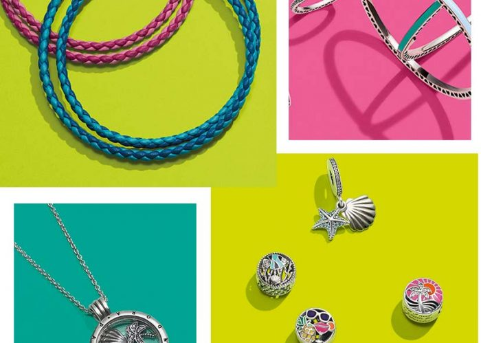 Pandora has release their summer collection.