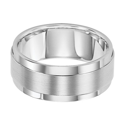 9Mm Cf White/Tungsten Band