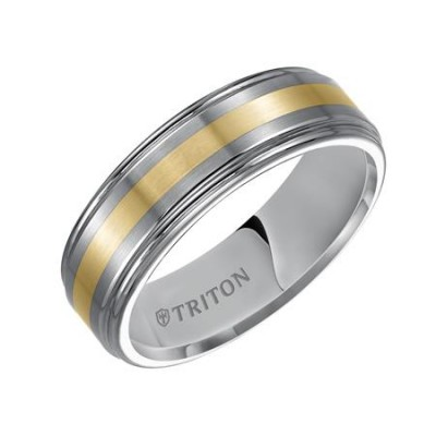 7Mm Comfort Fit Tungsten Wedding Band