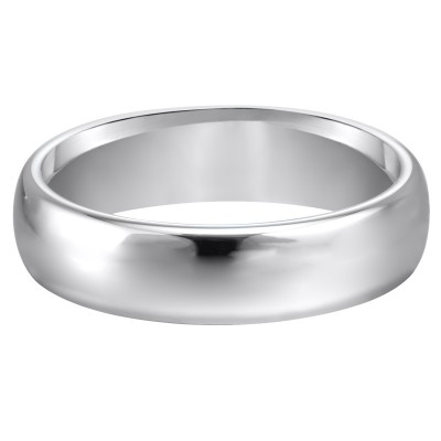 6Mm Cf White/Tungsten Band