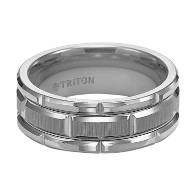 8Mm Cf Gry/Tungsten Band