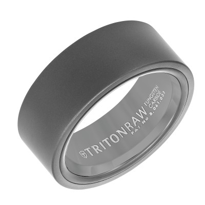 Triton 9mm 'Tungsten Raw' Black Band