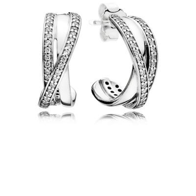 Pandora Earring  Style# 290730CZ