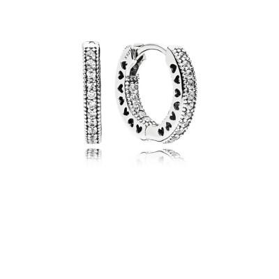 Pandora Earring  Style# 296317CZ