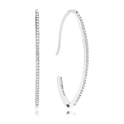 Pandora Earring  Style# 297691CZ