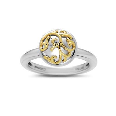 Tt Rnd Ivy Lace Ring