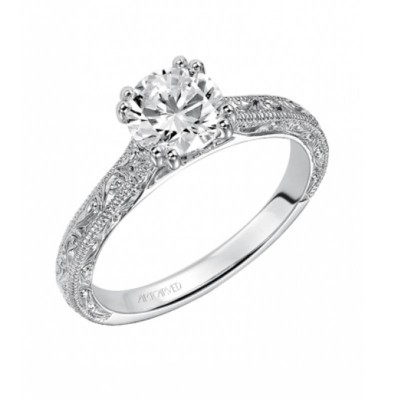 Bernadette Engagement Ring 14Kwg