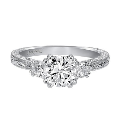 Anabelle Engagement Ring 14Kwg