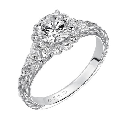 Lila Diamond  Engagement  Ring