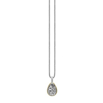 Sterling Silver Ivy Petite Pear Pendant