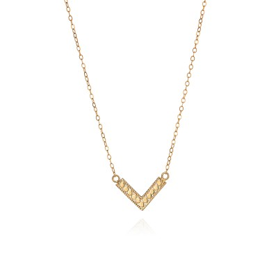 "Mini Arrow Necklace, 16-18"" (Reversible)"
