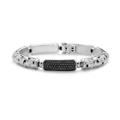 Sterling Silver Ivy Bar Bracelet