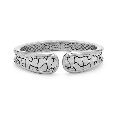 Sterling Silver Python Cuff