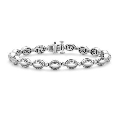 Sterling Silver/14W Firefly Bracelet