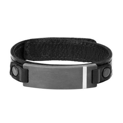 Triton 'Tungsten Raw' Men's Bracelet