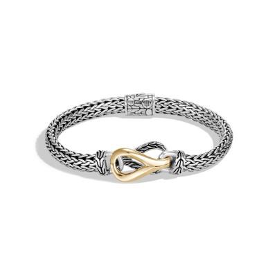 Asli Classic Chain Two-Tone Station Bracelet
