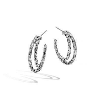 Classic Chain Small Hoop Earrings