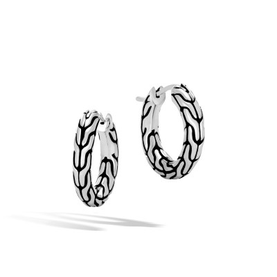 Classic Chain Extra Small Hoop Earrings
