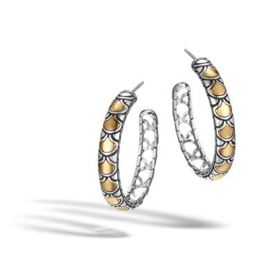 Legends Naga Medium Hoop Earrings